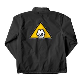 フリーメソメソ(Yellow) コーチジャケット