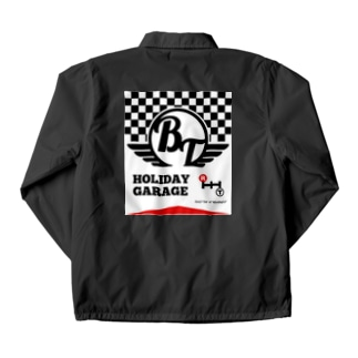 Red Lettered Coach Jacket
