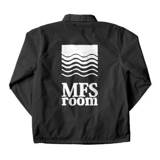 MFS room trim4(白) Coach Jacket