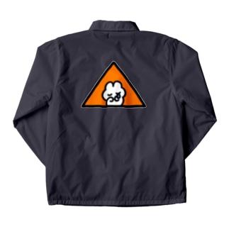 フリーメソメソ(Orange) コーチジャケット