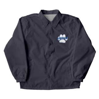 This is 立憲もふもふ党 Coach Jacket