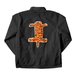 虎の敷物 Coach Jacket