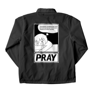 AgirlZ_PRAY Coach Jacket