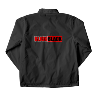 BLICK + BLACK のBLICK+BLACKバナー コーチジャケット