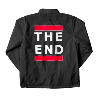 THE END (赤線) Coach Jacket