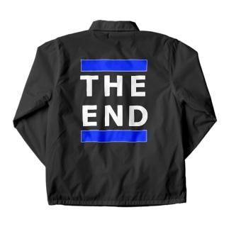 THE END (青線)  Coach Jacket
