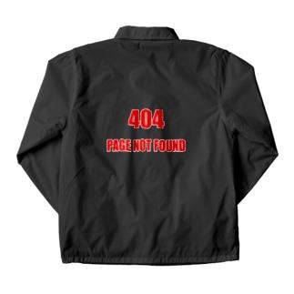 404エラー(NOT FOUND) コーチジャケット