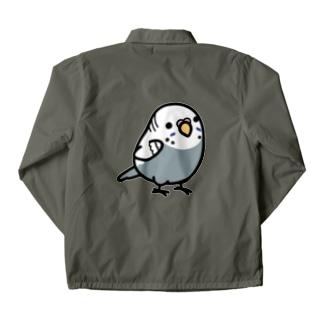 Chubby Bird セキセイインコ グレー 女の子 コーチジャケット
