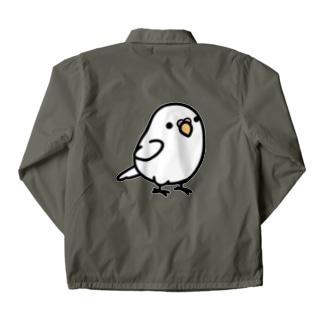Chubby Bird セキセイインコ ホワイト コーチジャケット