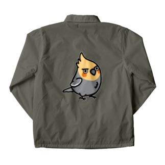 Chubby Bird ちょっと意地悪なオカメインコ コーチジャケット