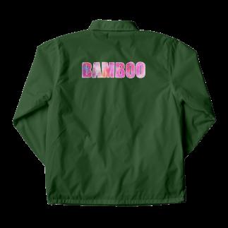 バンブータケのBAMBOO T コーチジャケット