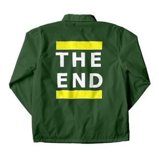 THE END (黄線) Coach Jacket