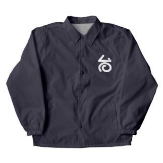 台温泉のロゴ Coach Jacket