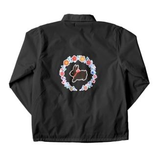 黒ウサギ Coach Jacket