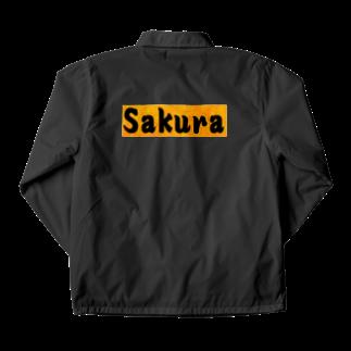 アメリカン★ベースのSakura グッズ Coach Jacket