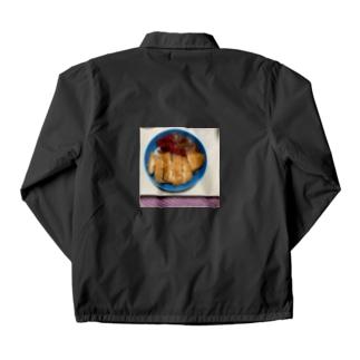 ある日のカツカレー Coach Jacket