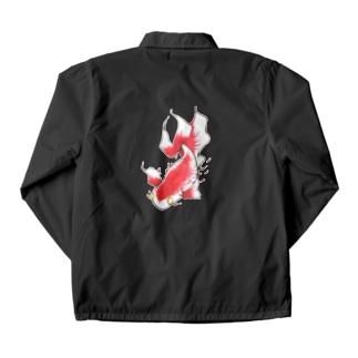 赤い魚 Coach Jacket