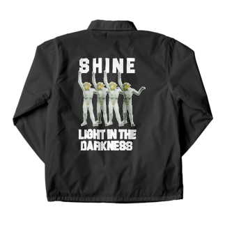 LIGHT IN THE DARKNESS Coach Jacket