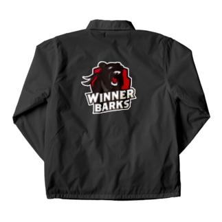 WinnerBarksチームロゴ Coach Jacket