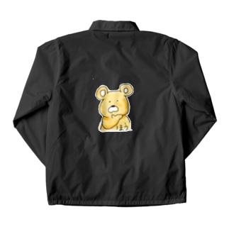 完全に論破される熊 Coach Jacket