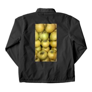 黄色リンゴ!梨じゃないよ!! Coach Jacket