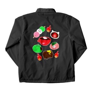 和菓子妖怪🍡アップ Coach Jacket