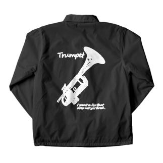 Trumpet Lips & Muted Coach Jacket