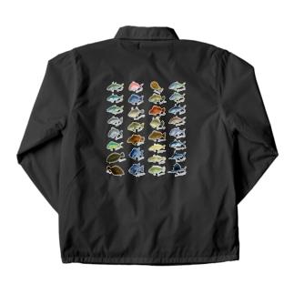 Saltwater fish_1W Coach Jacket