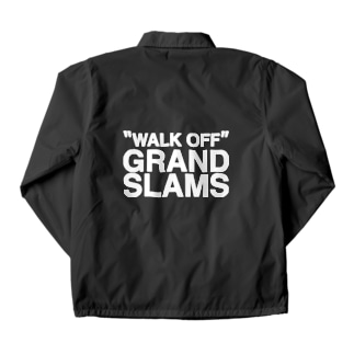 WALK OFF GRAND SLAMS -wht- Coach Jacket