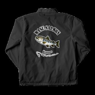 猫と釣り人のYAMAME_6_FBC Coach Jacketの裏面