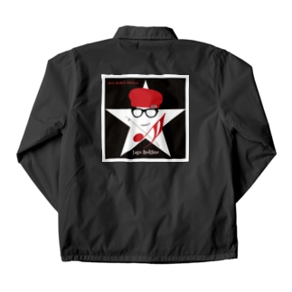 Logic RockStar Black Icon Coach Jacket