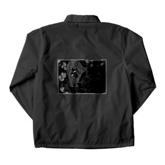 Mulberry Girl ~Black back~ Coach Jacket