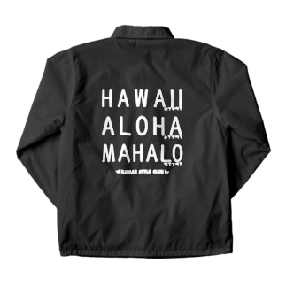 Hawaiiへの思い Coach Jacket