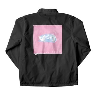 眠りネコ1 Coach Jacket