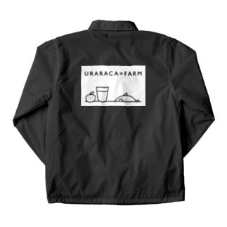 URARACA=FARM Coach Jacket