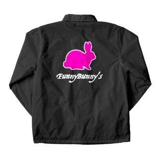 FunnyBunny's-うさぎ- Coach Jacket