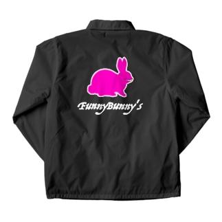 FunnyBunny's-うさぎ(笑)- Coach Jacket
