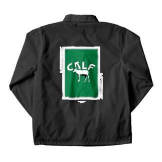 calf Coach Jacket