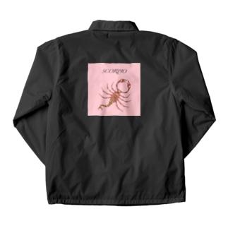 蠍のコーチジャケット Coach Jacket