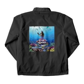 StopHenoko琉球人魚 Coach Jacket