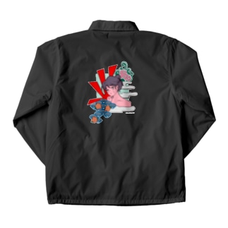GOKURAKU Coach Jacket