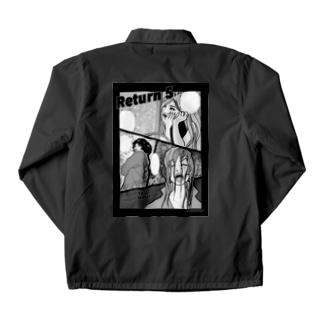 Return 5 monotone Coach Jacket