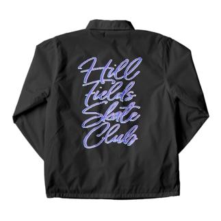 Hill Fields Skate Club Neon Coach Jacket
