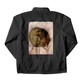家の猫アンモナイト型 Coach Jacket