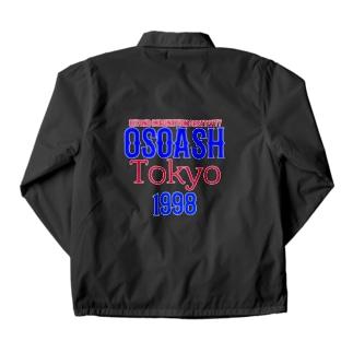 OSOASH東京BICロゴ Coach Jacket