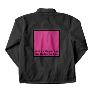 hanamituのWORD Coach Jacket