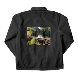 屋久島の路線バス Coach Jacket