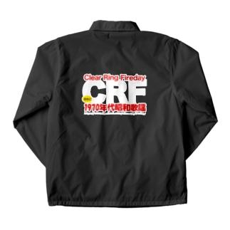 70年代 昭和歌謡 CRF 両面 Coach Jacket