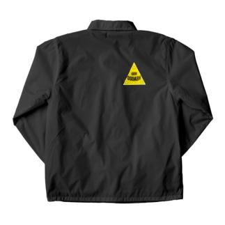 yellow-triangleOSOASH Coach Jacket