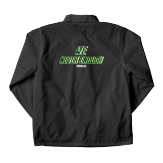 We never enough Coach Jacket